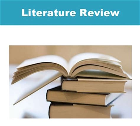 The importance of a literature review